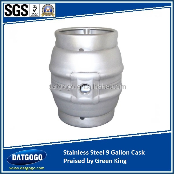 Stainless Steel 9 Gallon Cask Praised by Green King