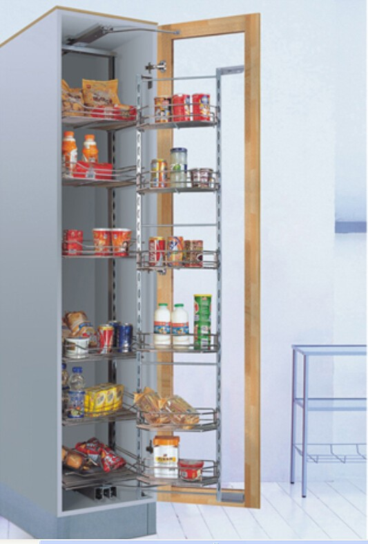 Kitchen Cabinet Pull Out Pantry Basket