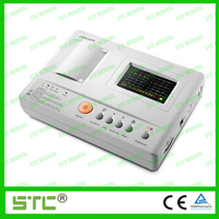 12 Lead portable ecg machine of one channel with CE(TM-1201G-C)