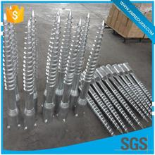 High Quality Galvanized wooden house fence screw anchor