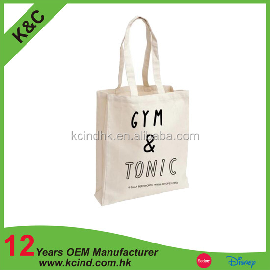 Very cheap canvas tote bag china supplier