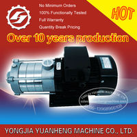 horizontal type multistage centrifugal water pumps
