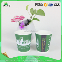 Adult Ads Disposable Paper Coffee Cups With Lids