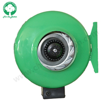 High efficiency 6 inch electric car greenhouse centrifugal exhaust fans