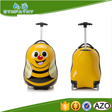 Funny kids luggage, travel luggage bags for kids, luggage trolley