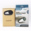 Vimoto V3 600Mah Motorcycle Multi-functional Helmet Bluetooth Earphone Motorbike Stereo Headset For Two way raido