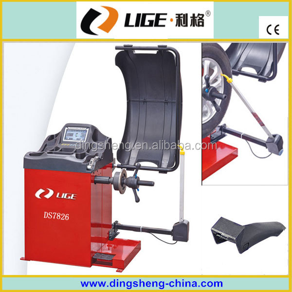 automatic China wheel balancer with CE and ISO