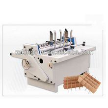 corrugated paperboard crosshatcher/cardboard partition slotter machine/corrugated box machinery