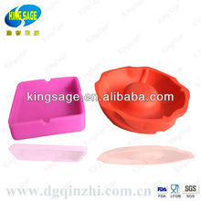 silicone flower pot ashtray
