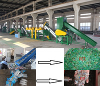 PP PE Film Waste Plastic Recycling Washing and Drying Line