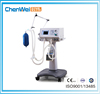 CE marked hospital equipment chenwei brand high intelligent control breathing apparatus icu ventilator machine price CWH-3020