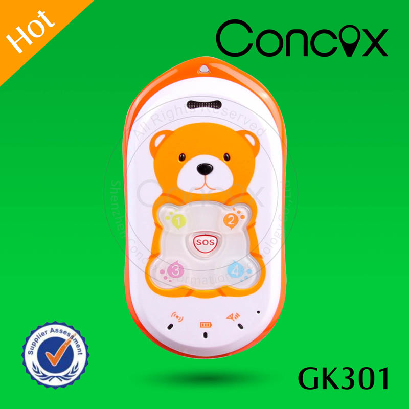 Online Satellite Tracking Wed-based Online Tracking Platform Kids Cell Phone GPS Tracker Concox GK301