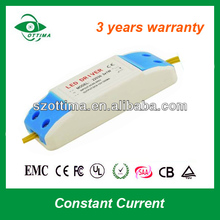 scr dimmer led power supply 20W 420mA LED Driver CE SAA 110V/220Vac