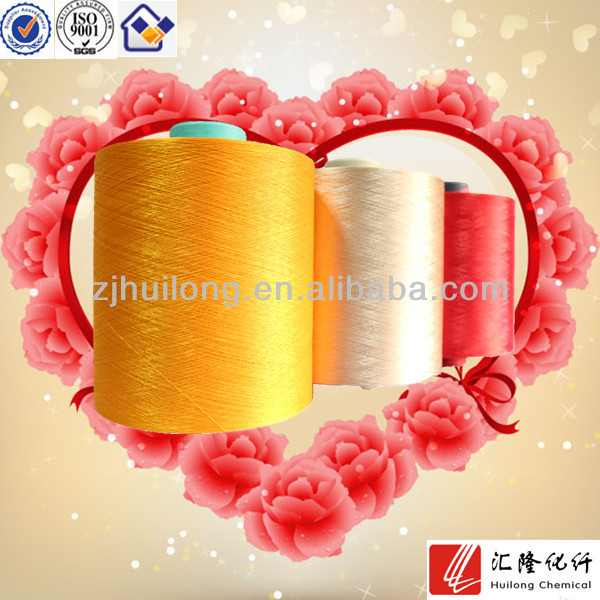polyester DTY reflective yarn for knitting