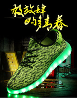 Racing shoes lighting sneaker