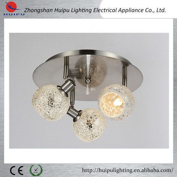 2015 new design 3 lamps mosaic pendant lights