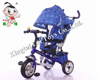 2016 kids trike 4 in 1 tricycle bike with brake/ Hot sale children tricycle,baby tricycle with pushbar