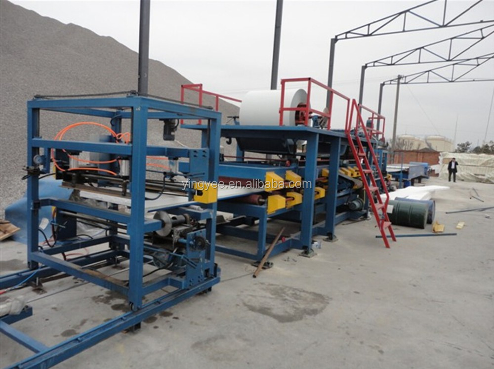 steel strip steel stud panel roll former/color steel eps sandwich panel production line