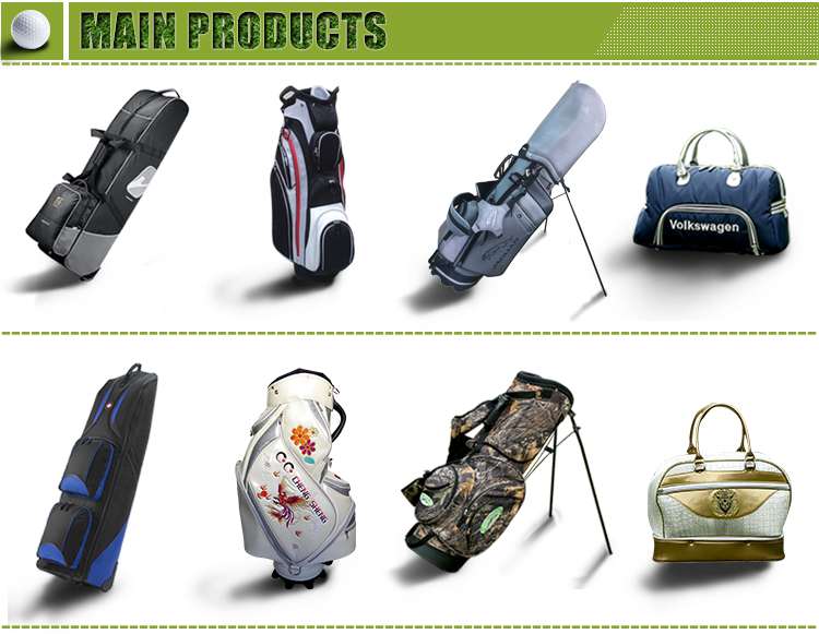 Polyester Custom Golf Bag Golf Cart Bag