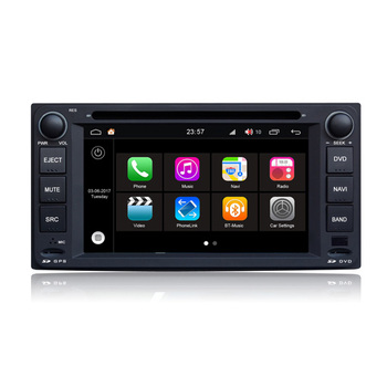 Hifimax Android 7.1 Touch Screen Car DVD Player For Toyota Fortuner(2005-10) GPS Navigation System For Universal Toyota Model