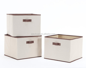 Convenient Storage Basket, Foldable Fabric Purity Storage Box
