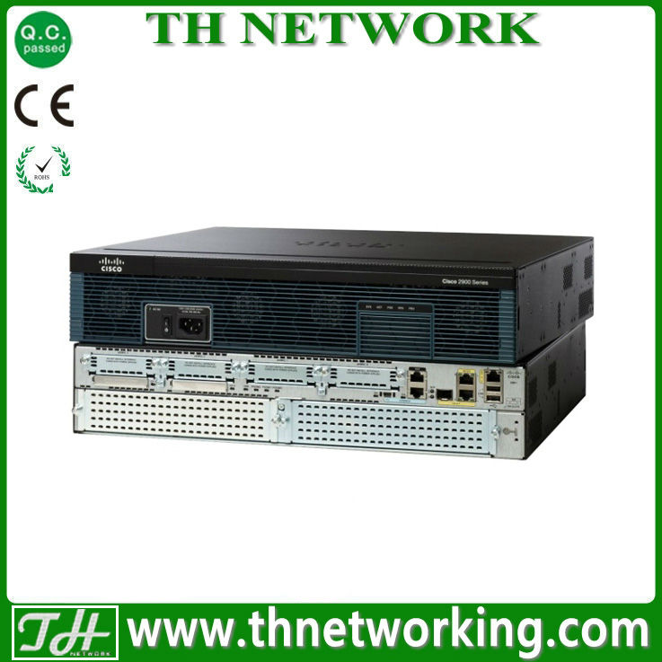 Genuine Cisco 2900 Router C2911-WAAS-SEC/K9 Cisco 2911,SRE 700,WAAS Enterprise Small and SEC PAK bundle