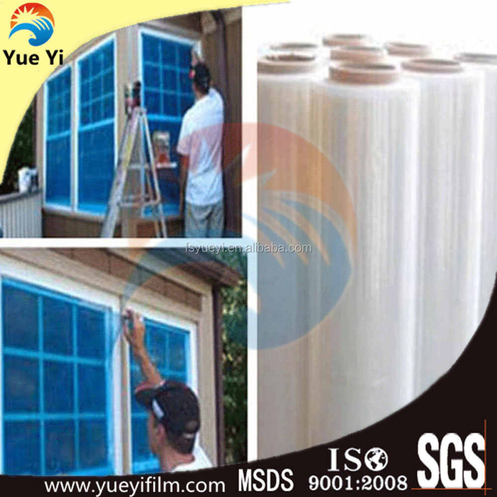 Anti-scratch plastic window film