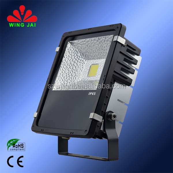 Newest Design high quality ip65 outdoor ocean wave 50 watt led corded flood light