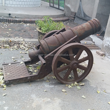 Retro Rustic Decorative cannon models Cast iron