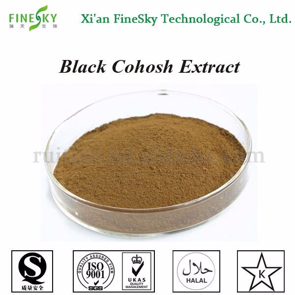 Supply Cimicifuga foetida L. Black Cohosh Extract powder