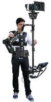 Flycam 7500 Carbon Fiber Stabilizer with Steadycam Arm Vest Supporting Cameras upto 1-15kgs/2lbs-33lbs (FLCM-7500)