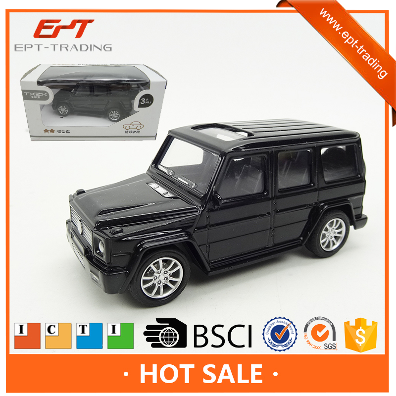 Mini alloy die cast scale model toy pull back toy car