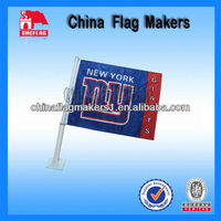 Custom Design NFL Car Flags For Football Team Use