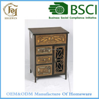 Antique Fir Wooden Furniture Cabinet