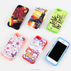 Thermal transfer printing blank mobile phone case with silicon cover apply to iphone 5S
