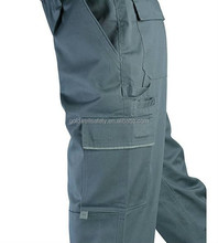 Work Trousers Mens Cargo Combat Style Heavy Duty Pants with Knee pads pockets