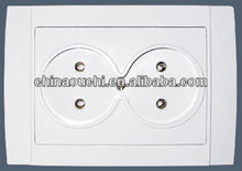 European Style Electrical Wall Sockets Outlet Double (SR-2511)