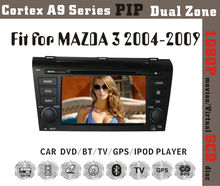 8inch HD 1080P BT TV GPS IPOD Fit for MAZDA3 2004-2009 in dash car dvd gps system