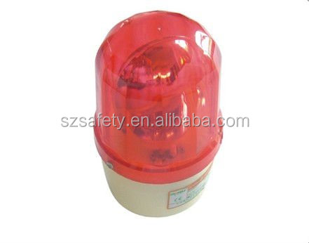 Manufacturer! Police Electronic Sirens Fire Alarm Red Wired Strobe /Siren 85dB Emergency Alert for Anti-Theft/Personal Security