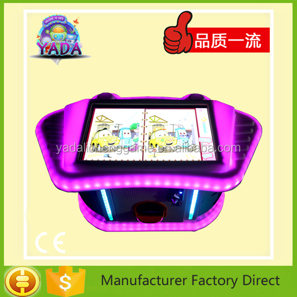 Mini customized video arcade board game table for kids