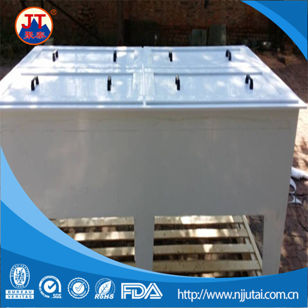 OEM welding ceramic white PP tanks with covers