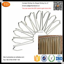 High quality stainless steel curtain draperies S clip hook