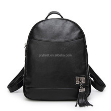 Backpack bag factory wholesale Girl's Real leather Storage school backpack