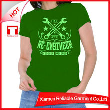 Green custom no problem t shirt and pant pieces