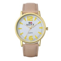 SJWH0031I SJ Express Cheap Wholesale Elegant Leather Watch Strap Women Vogue Quartz Watch