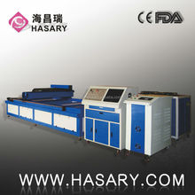 hasary factory supplier 1000w fiber laser cutting machine with air cooling