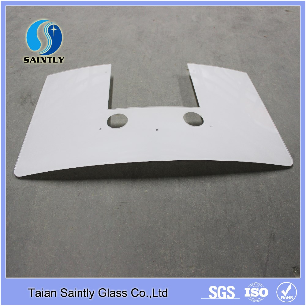 Taian 3.2-10mm screen printing tempered polished glass for range hood