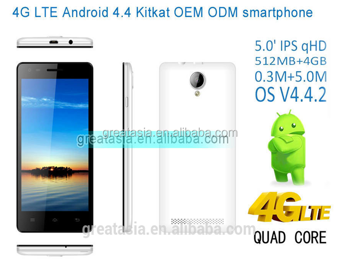 2015 latest new product 4G LTE Smartphone android4.4 MTK 6582M +MTK 6290 quad core dual sim card cheap price