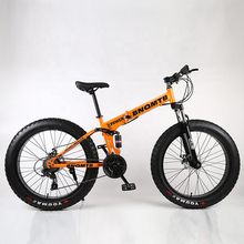 Hot sale variable speed 26 inch 4.0 fat tire bicycle Snow <strong>bike</strong> folding snow <strong>bikes</strong> made in china