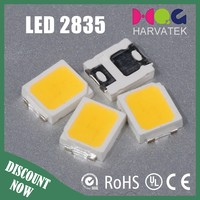 white 60mA 0.2W specification 2835 smd led